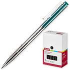 Ручка шариковая автоматическая Attache Bo-bo зеленая (толщина линии 0.5 мм)